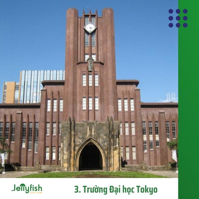 3. Trường Đại học Tokyo