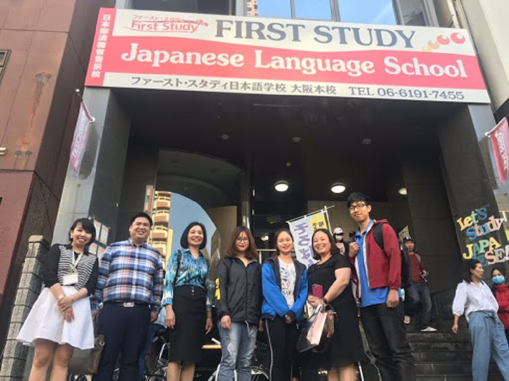 Trường Nhật ngữ First Study