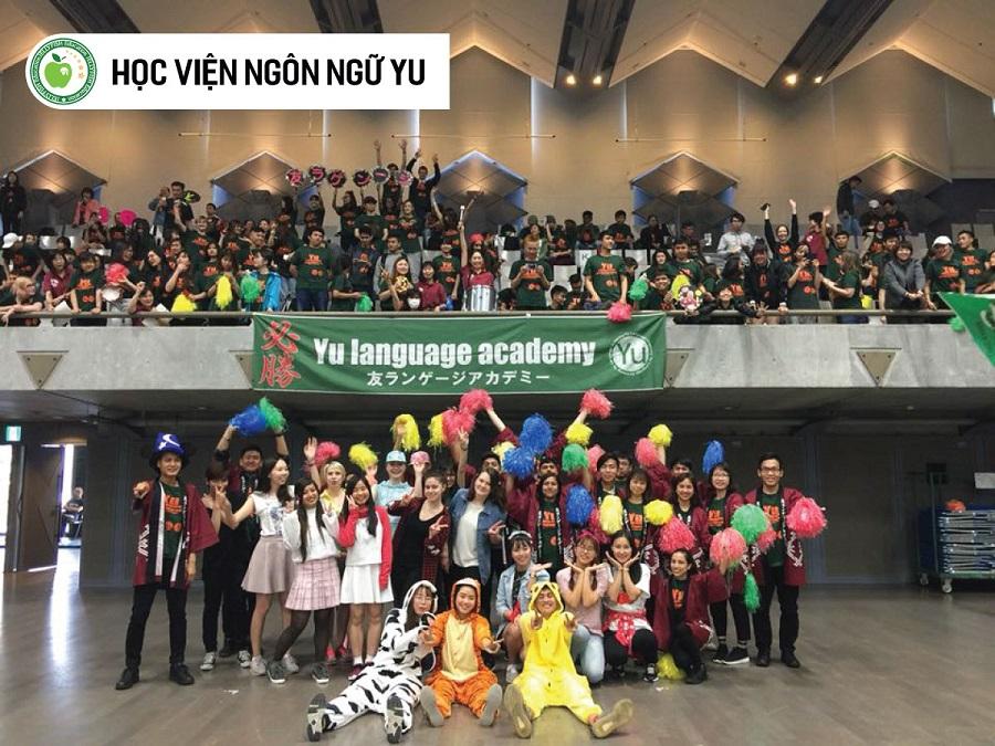 Hình ảnh về một số hoạt động tại Học viện ngôn ngữ Yu - Ảnh 1