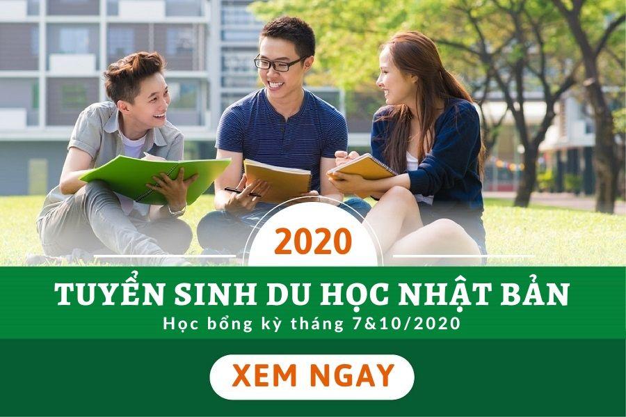Tuyển sinh du học Nhật Bản 2020